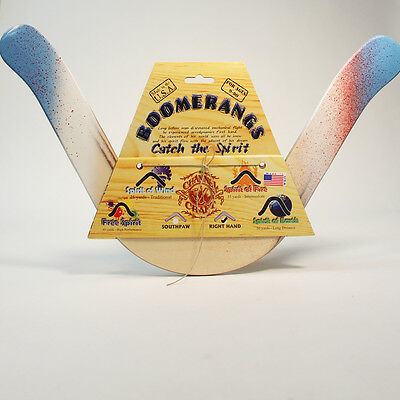 Channel Craft Boomerang Spirit of Earth Graffiti - Right Handed - Colors Vary