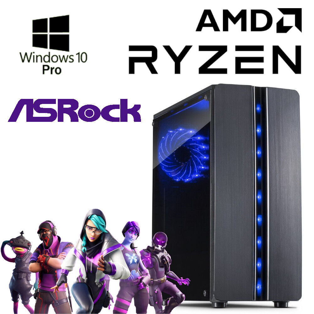 Gaming PC - AMD Ryzen 3 3200G - 16GB RAM - 240GB SSD - Win10 - Gamer - 4K UHD