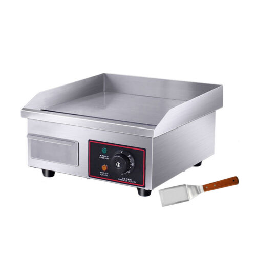 """Electric Flat Grill 1500W 14"""" Hot"""