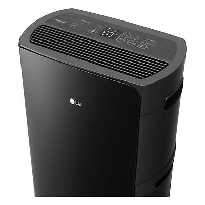 LG PuriCare 70 Pint Dehumidifier Low Temp 42° Energy Star, 2000 sq ft UD701KOG2