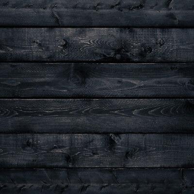 Fliesenaufkleber   Dekor Holz Schwarz   alle Größen   günstige Staffelpreise