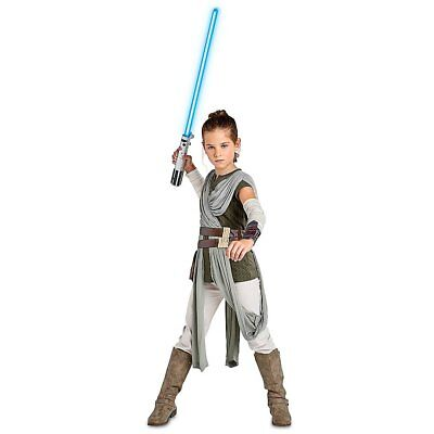 Star Wars Rey Costume for Kids The Last Jedi Size 7/8 - War Costumes For Kids