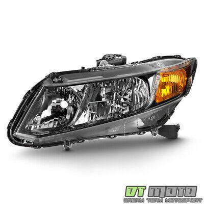 For 2013-2015 Honda Civic Sedan 13 Coupe Headlight Headlamp LH Left Driver Side Honda Civic Sedan Headlamp Headlight