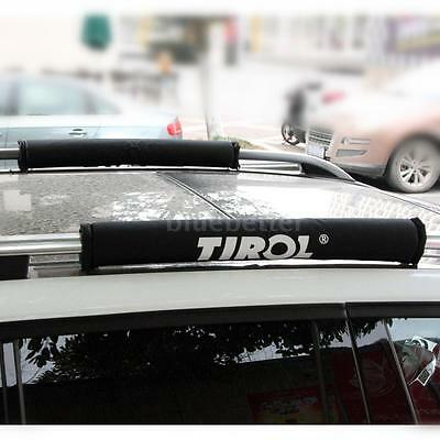 High Quality 2X Car Roof Rack Pads Crossbar Inflatable Pad Cover Luggage Carrier
