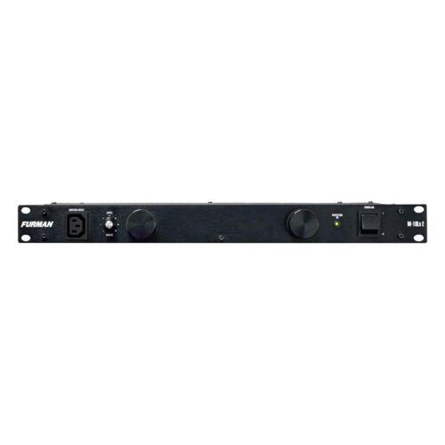 Furman M10LXE Rackmount 10A Standard Power Conditioner Studio Rack with Lights
