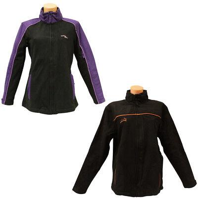 Damen Herren Trekking Fleecejacke mit Reißverschluss Outdoor Jacke Fleece S-XXL