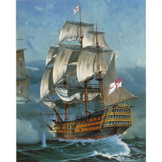 1:225 Revell H.m.s. Victory Ship - H.m.s. Model Kit Set (05408)