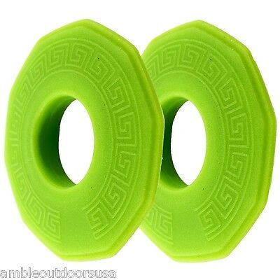 SeaWall Kayak Paddle Drip Rings by Seattle Sports, 1 pair .. New (non-glow)