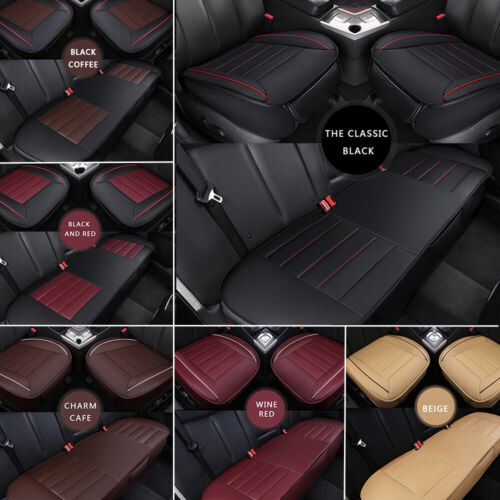 PEUGEOT 207 CC 07-ON Full Set Leather Look Beige Seat Covers Protectors
