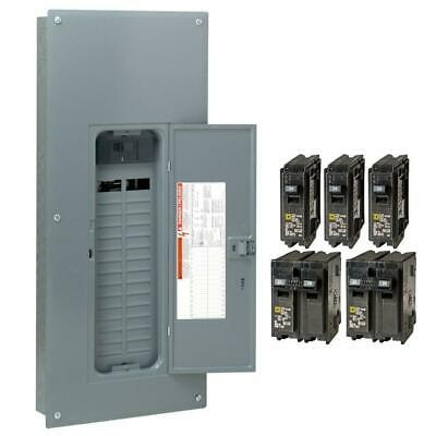 Square D 200 Amp 30-space 60-circuit Indoor Main Breaker Panel Box Load Center