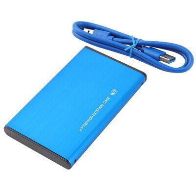 1TB USB 3.0 Blue Portable External Hard Drive Ultra Slim For One Mac Windows USA