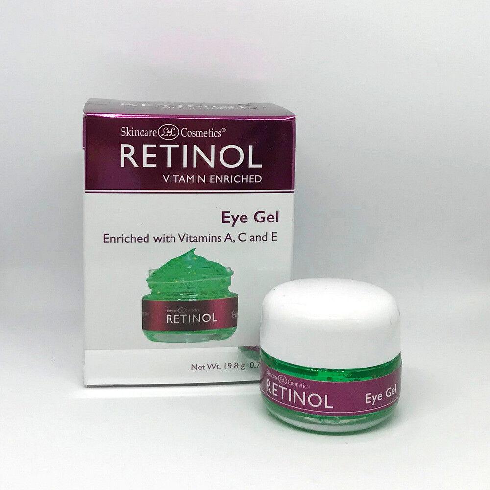 Skincare LdeL Cosmetics Retinol Eye Gel, .7 Ounce Jar