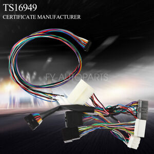 Stereo Wiring Harness On Honda Obd0 To Obd1 Conversion Harness ... on