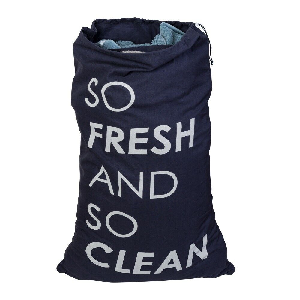 Honey-Can-Do So Fresh & So Clean Divided Clothes Laundry Bag
