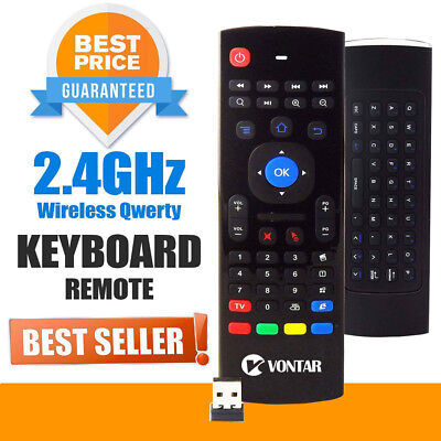 MX3 Air Mouse Wireless Keyboard Remote For M8s Kodi MXQ H96 X96 Android TV Box