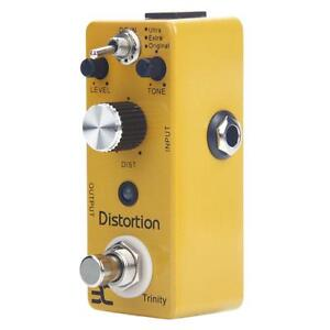 New ENO TC-12 Efficient Distortion Pedal Electric Guitar Effect Pedal Yellow