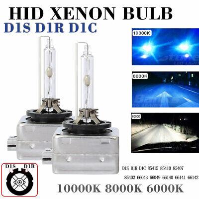 2X D1C D1S D1R HID Xenon Headlight Light OEM Replacement Bulb 6000K 8000K 10000K