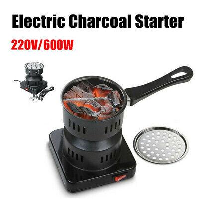 UK Electric 220V Coal Starter Charcoal Burner Hookah Shisha Nargila Heater Stove