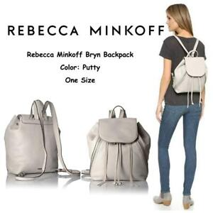 NEW Rebecca Minkoff Bryn Backpack, Putty, One Size Condtion: New, Putty