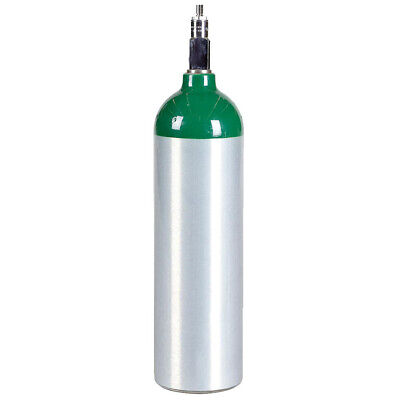 Jumbo D Aluminum Medical Oxygen Cylinder - New 22.9 Cu Ft - Cga870 Post Valve