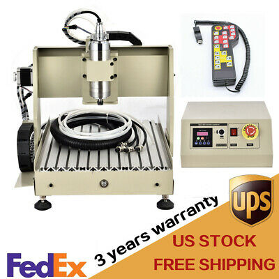 Usb Cnc Router 4 Axis 3040 Engraver Wood Milling Machine 800w Cutter Controller