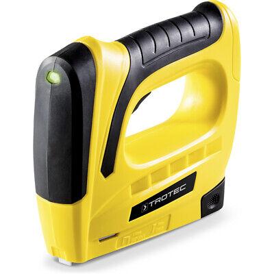TROTEC Grapadora eléctrica con batería PTNS 10-3,6V Calidad probada