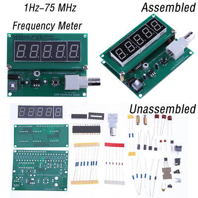 1hz-75 Mhz Frequency Cymometer Meter Measurement Frequency Counter Tester Module