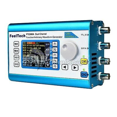 Arbitrary Waveform Dual Channel High Frequency Signal Generator Frequency Meter