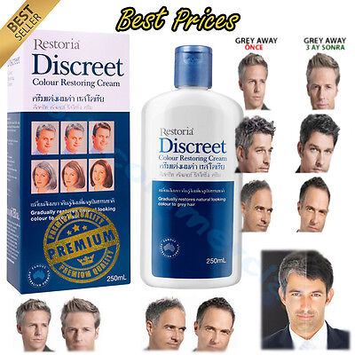 Best Hairstyle For Youth : Restoria discreet hair colour restoring reverse youth cream 250ml