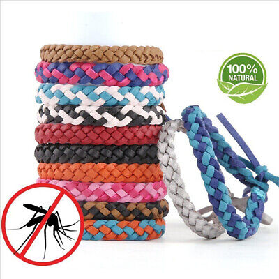 - Anti Mosquito Bug Pest Repel Wrist Band Bracelet Insect Repellent Camping
