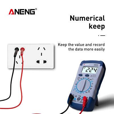 A830l Digital Multimeter Ammeter Dcac Meter Multitester Multimetro Electric Lcd