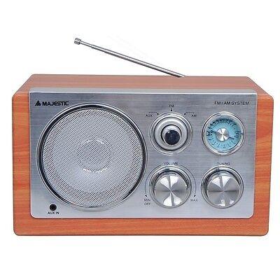RADIO PORTATILE MAJESTIC WR168AX STEREO PORTATILE ALTOPARLANTE INGRESSO AUX