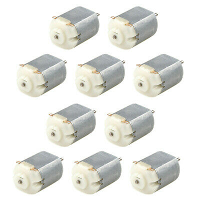10x Miniature Small Electric Motor Brushed 3v-6v Dc For Models Crafts Robots Toy