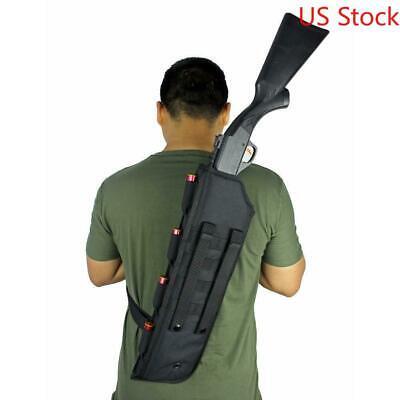 NcStar Tactical Hunting Shotgun Rifle Scabbard Holster Military MOLLE Tan