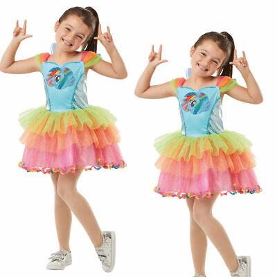 Deluxe Rainbow Dash Mädchen My Little Pony Kostüm Kinder - Rainbow Dash Kostüm Kind