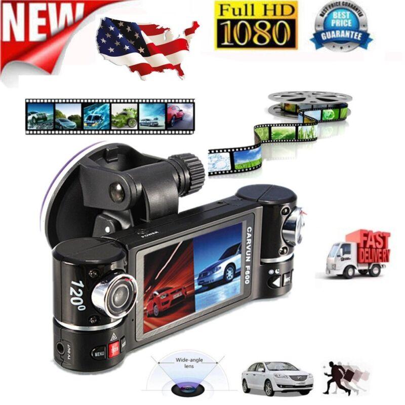 2.7 Inch 1080P HD Dual Lens Car DVR Video Recorder Camcorder