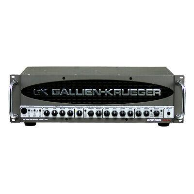 Gallien Krueger 2001 RB-II Solid State Bass Guitar Amplifier Head Dual 540W