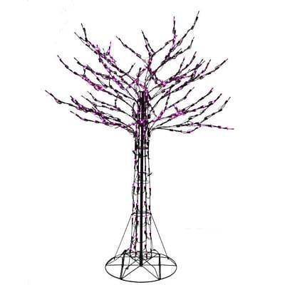 6' Halloween LED Purple Branch Twig Tree Yard - Halloween Twig Tree