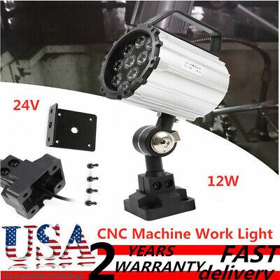 24V-36V 7W Long Arm LED Work Light L720mm for Lathe Machine Lamp Waterproof CNC