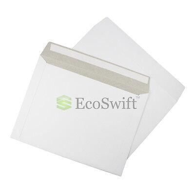 35 - 12.5 X 9.5 Self Seal White Photo Ship Flats Cardboard Envelope Mailers