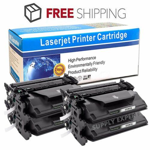 2PK CF287A 87A Bk Toner Cartridge For HP LaserJet Pro M501dn M506dn MFP M527dn