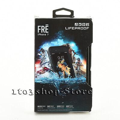 LifeProof FRE iPhone 7 iPhone 8 Waterproof Shockproof Violently Shell Case Black NEW