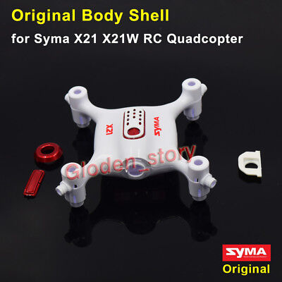 Original White Body Shell for Syma X21 X21W RC Quadcopter Aircraft Spare Parts
