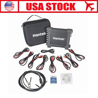 Hantek 1008c 8 Ch Virtual Automotive Diagnostic Daq Signal Oscilloscope 12 Bits