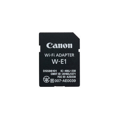 Canon W-E1 Wi-Fi Adapter for 7D II, 5Ds, 5DsR Cameras