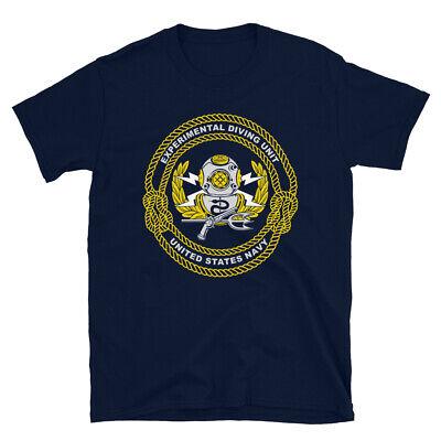 US Navy Deep Sea Diver T-Shirt Underwater Scuba Diving Operations -