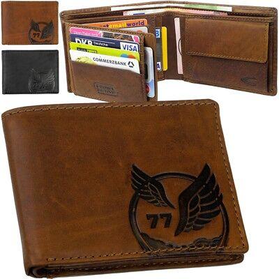 Camel Leder Geldbörse (camel active Adler Geldbörse Portemonnaie Geldbeutel RFID eagle cowboy wallet)
