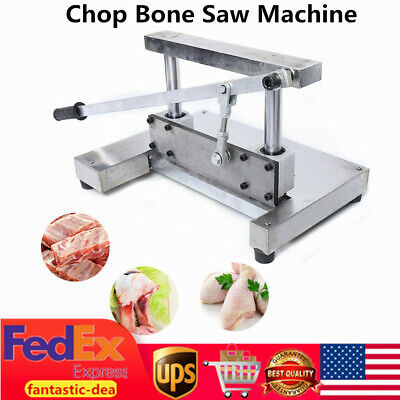 Commercial Manual Chop Bone Saw Machine Pribs Trotters Meat Bone Cutting Machine
