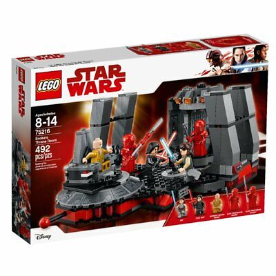 Lego Star Wars Snoke's Throne Room (75216) - BRAN NEW