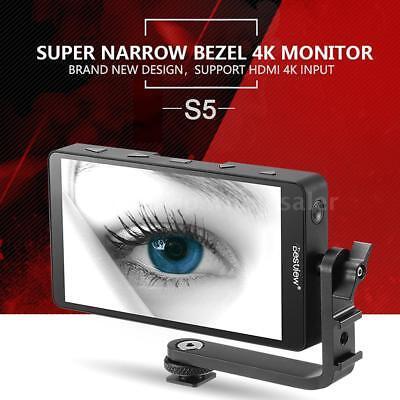 "Bestview S5 5.5"" IPS 4K HDMI On Camera Video Monitor for Sony Canon Nikon DSLR"